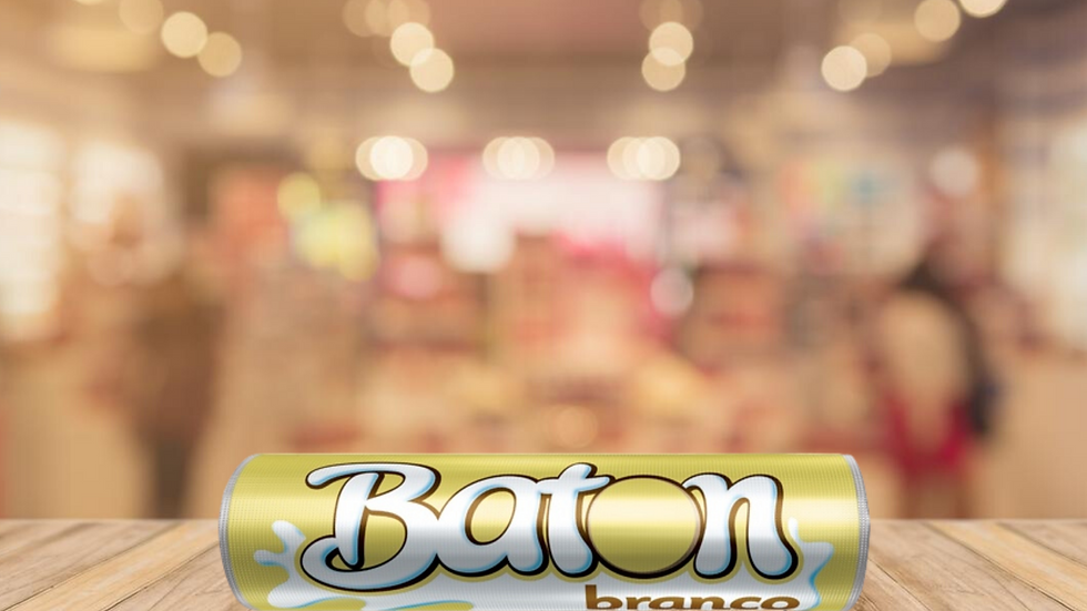 BATON CHOCOLATE BRANCO GAROTO - 16g