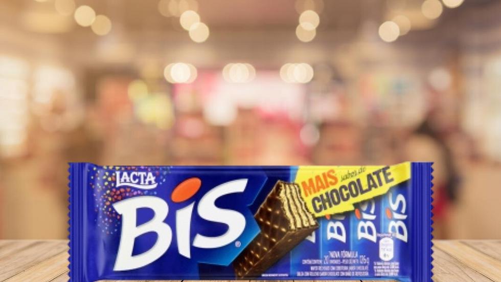 BIS LACTA CHOCOLATE AO LEITE - 140g