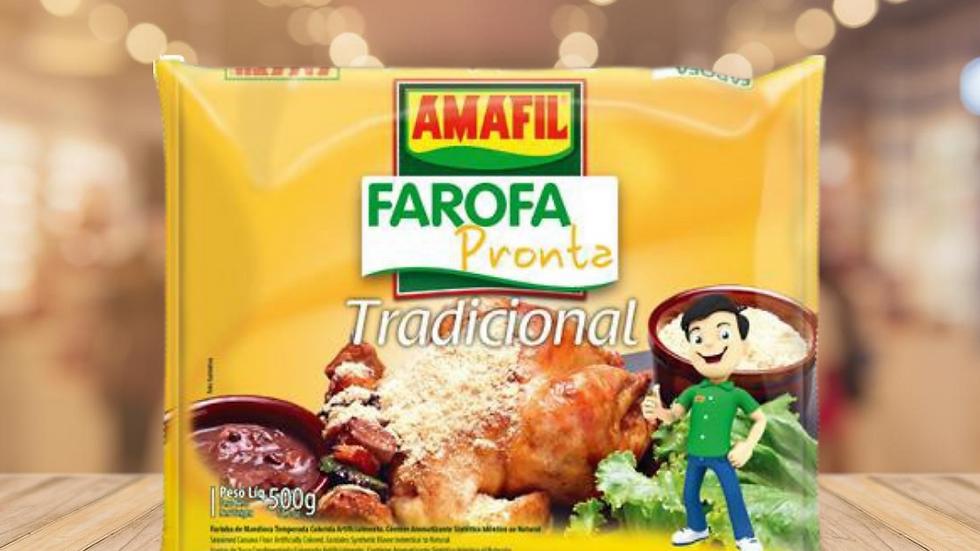 FAROFA DE MANDIOCA AMAFIL - 500GR