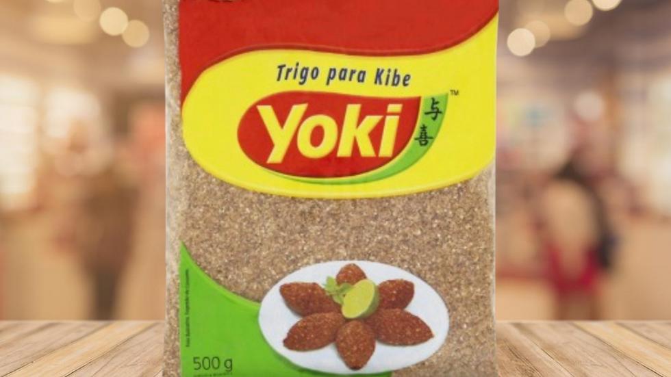 TRIGO PARA QUIBE YOKI - 500GR
