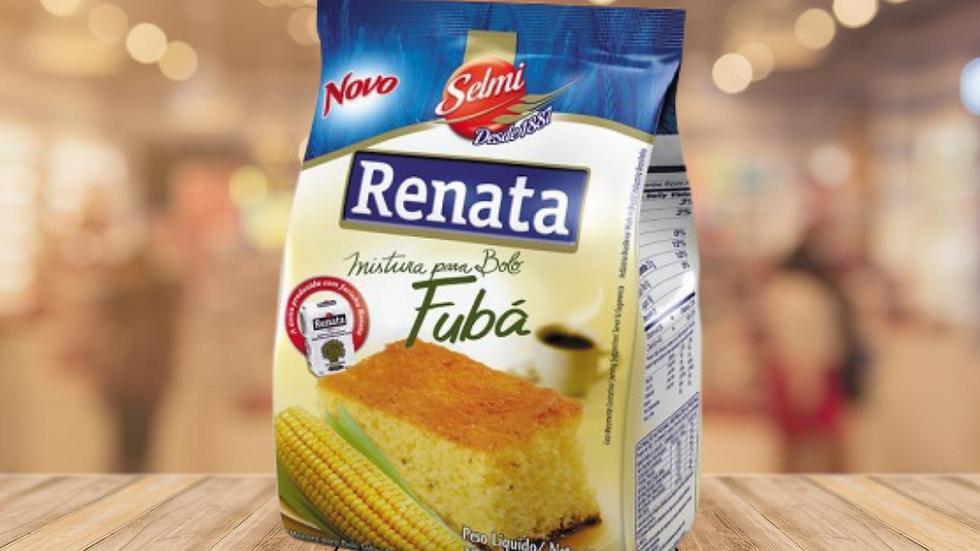 MISTURA PARA BOLO DE FUBÁ RENATA - 400GR
