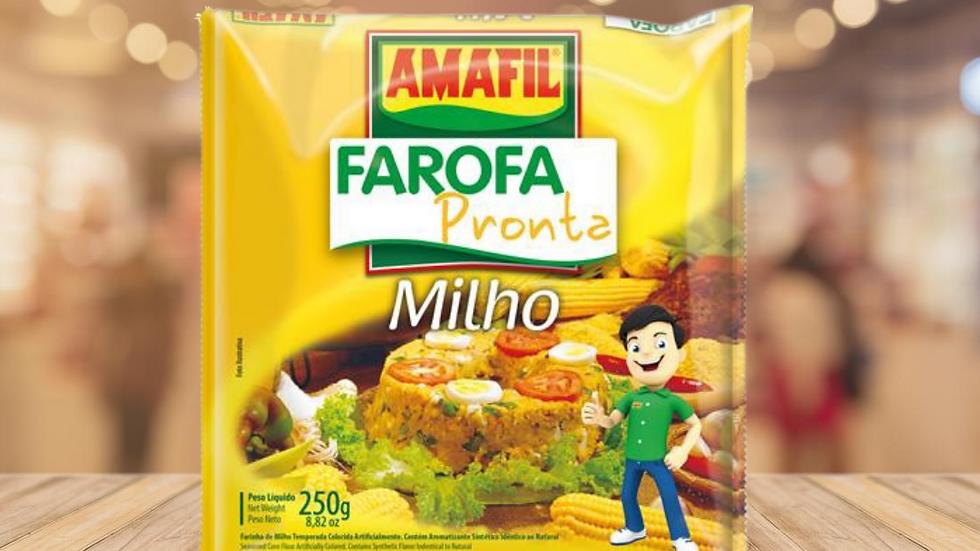 FAROFA DE MILHO AMAFIL - 250GR