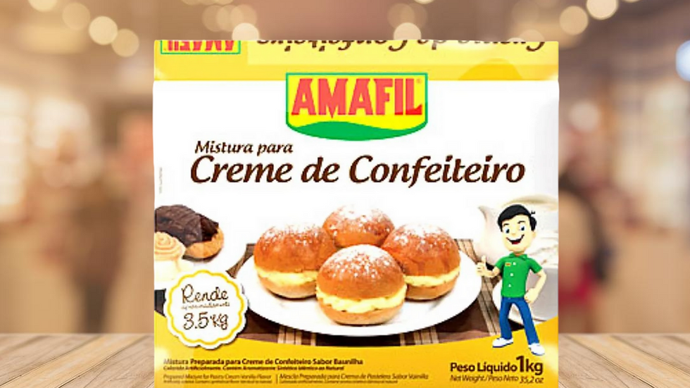 CREME DE CONFEITEIRO AMAFIL - 1KG