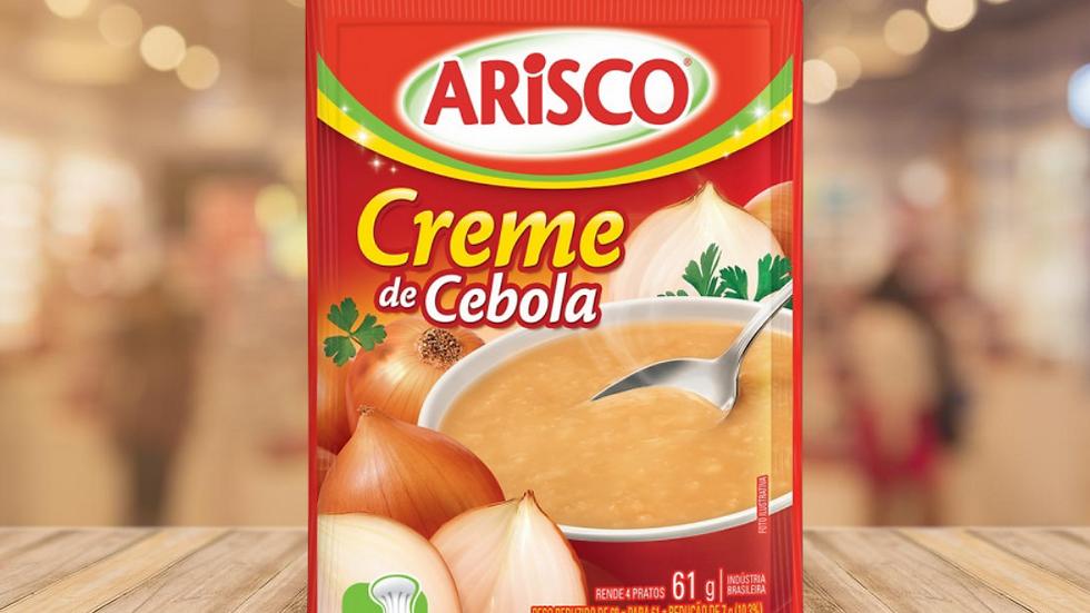 CREME DE CEBOLA ARISCO - 61GR