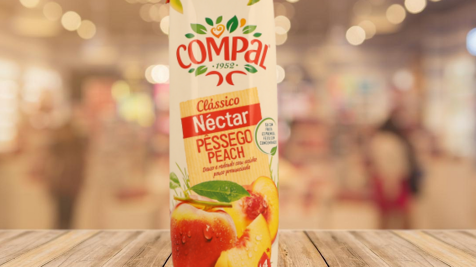 SUCO DE PÊSSEGO COMPAL - 1L