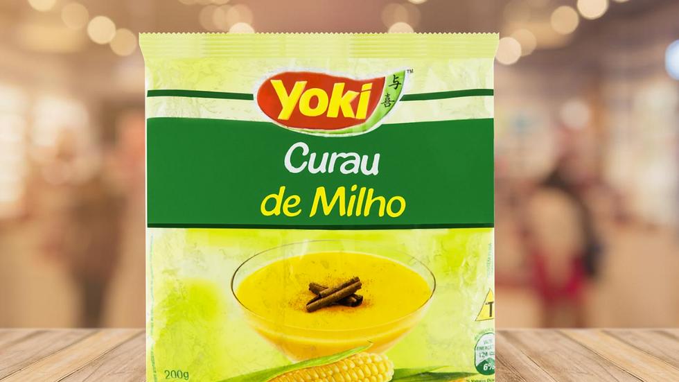 CURAU DE MILHO YOKI - 200GR