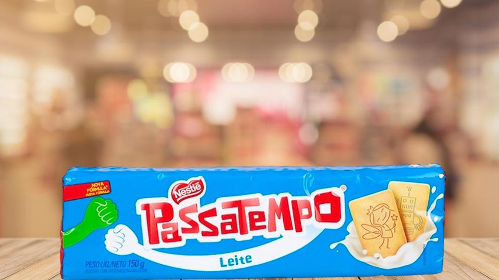 BOLACHA PASSATEMPO LEITE NESTLÉ - 150GR