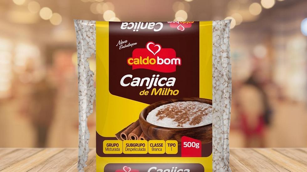 CANJICA BRANCA CALDO BOM - 500GR
