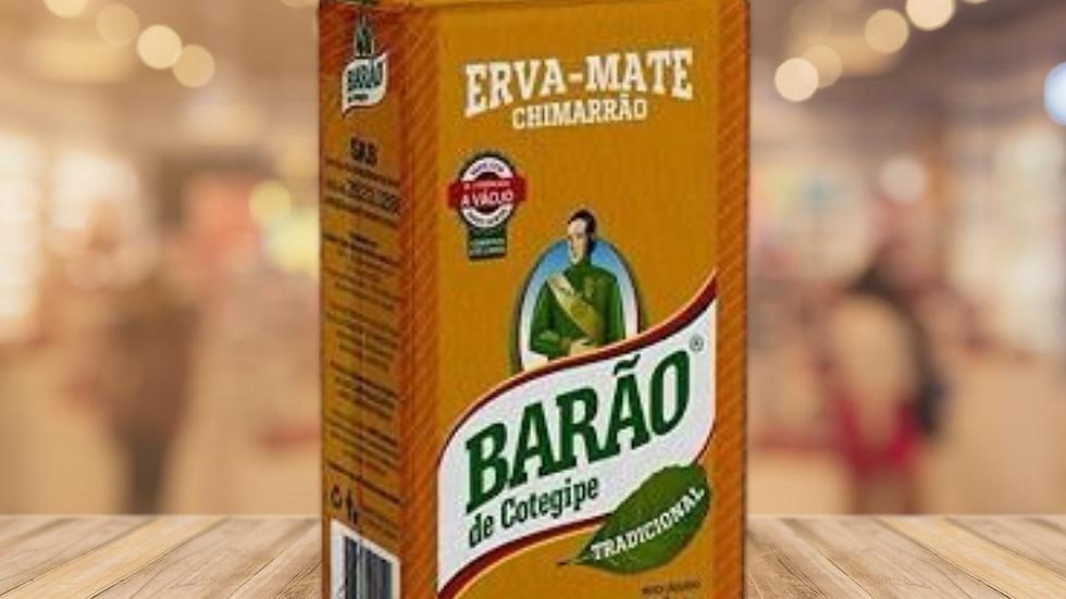 CHIMARRÃO ERVA MATE BARÃO - 1KG