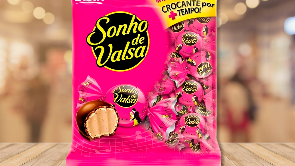 SONHO DE VALSA LACTA - 1KG