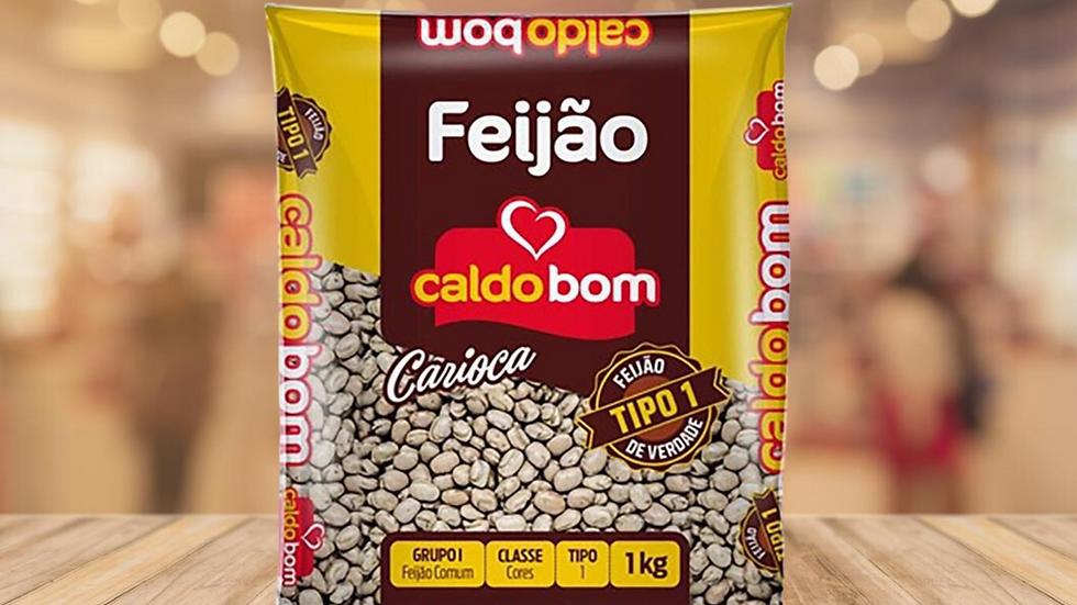 FEIJAO CARIOCA CALDO BOM 1KG