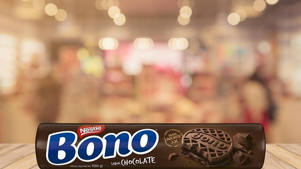BOLACHA BONO CHOCOLATE NESTLE - 140g