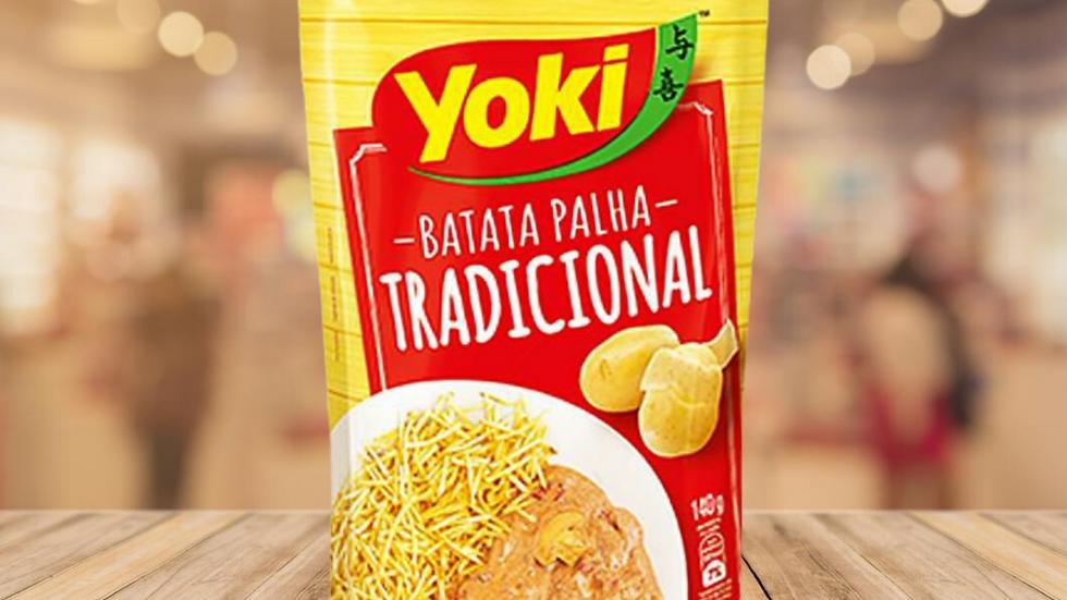 BATATA PALHA TRADICIONAL YOKI - 105gr