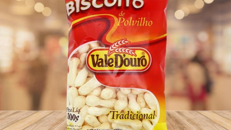 BISCOITO POLVILHO TRADICIONAL VALE DOURO - 100G