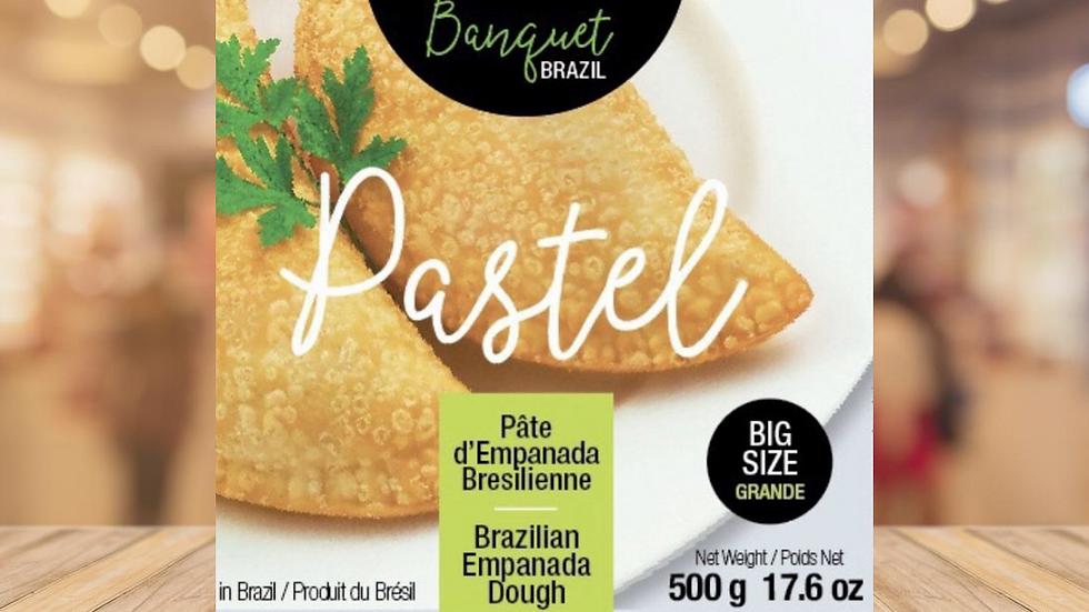 MASSA DE PASTEL TAMANHO G BANQUET BRAZIL - 500GR