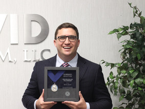 Byron P. David Receives Walter Zeller Fellowship Award