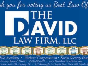 The David Law Firm Wins Awards for Best Attorney, Best Law Firm, Best Criminal Attorney and Best Eld