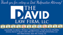 The David Law Firm Wins Multiple Awards