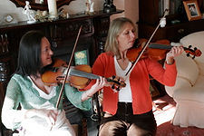 Irish music and fiddle workshops and courses at Fiddlers Retreat. Irish Fiddle Tuition