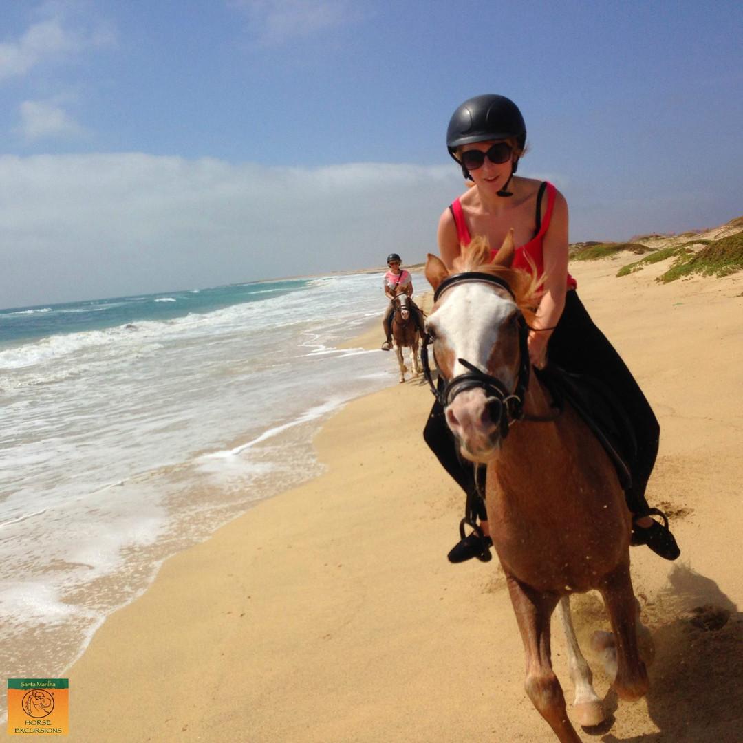 horse riding cape verde sal island santa maria