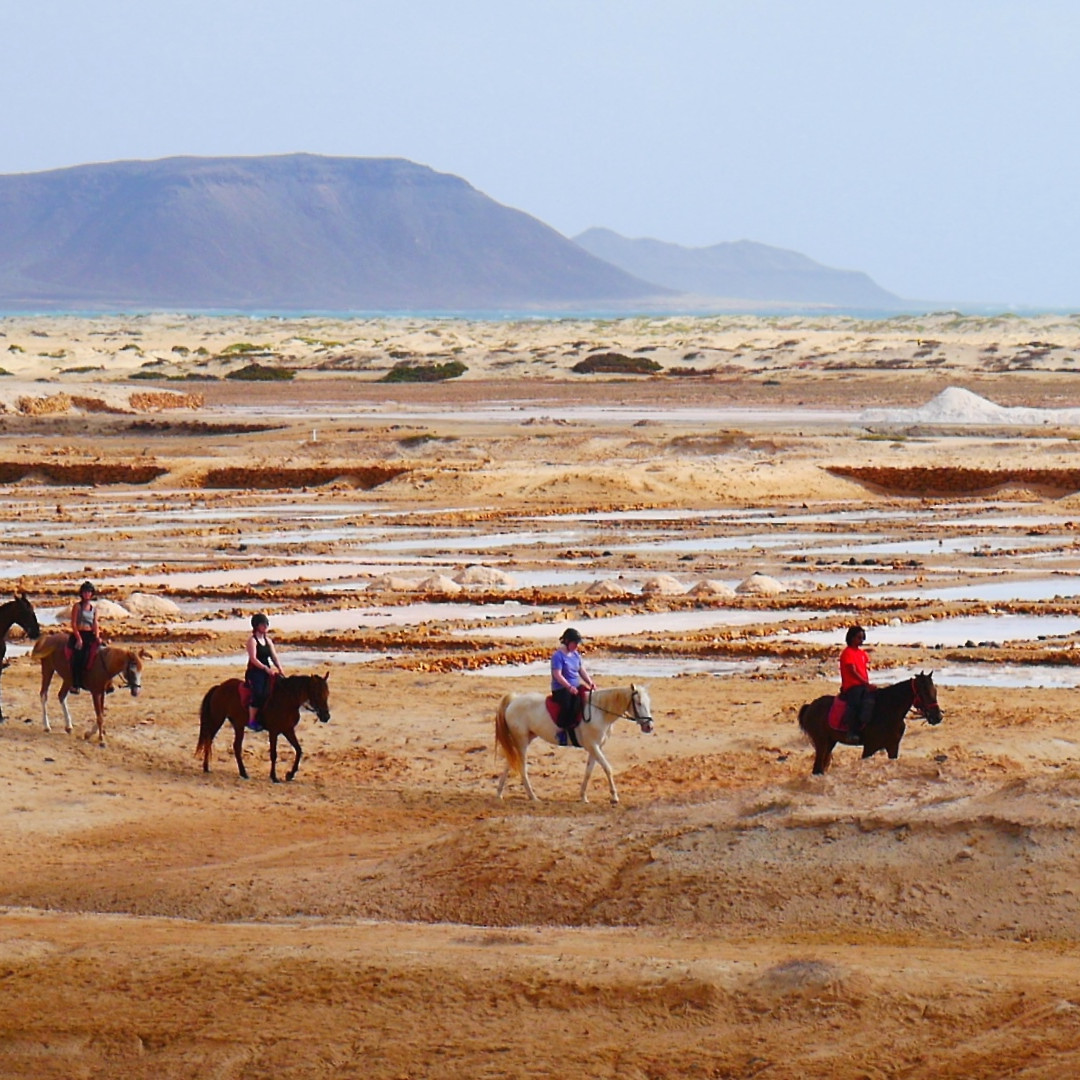 horse riding in cape verde sal island