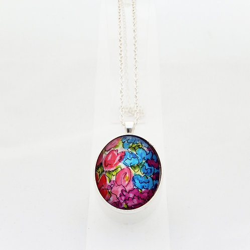 Countryside Florals Delicate Necklace