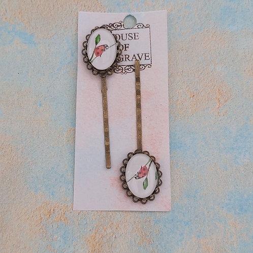 Ladybird Bobby pins (2)