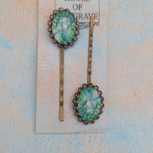 Jade Willow Bobby pins (2)