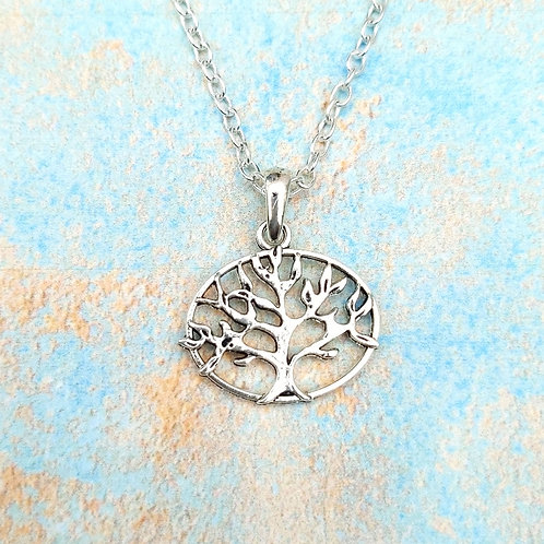 Oval Tree of Life necklace