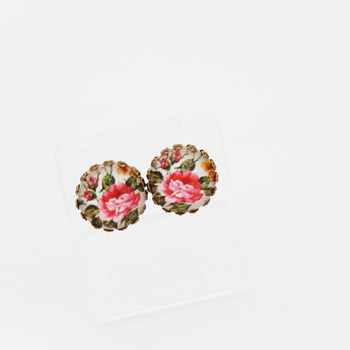 Briar Rose Stud Earrings