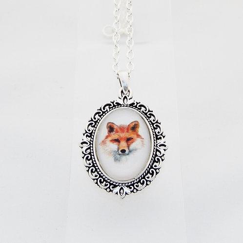 Fox Mini Ornate Necklace