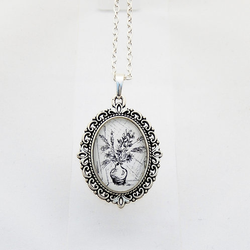 Grasses Mini Ornate Necklace
