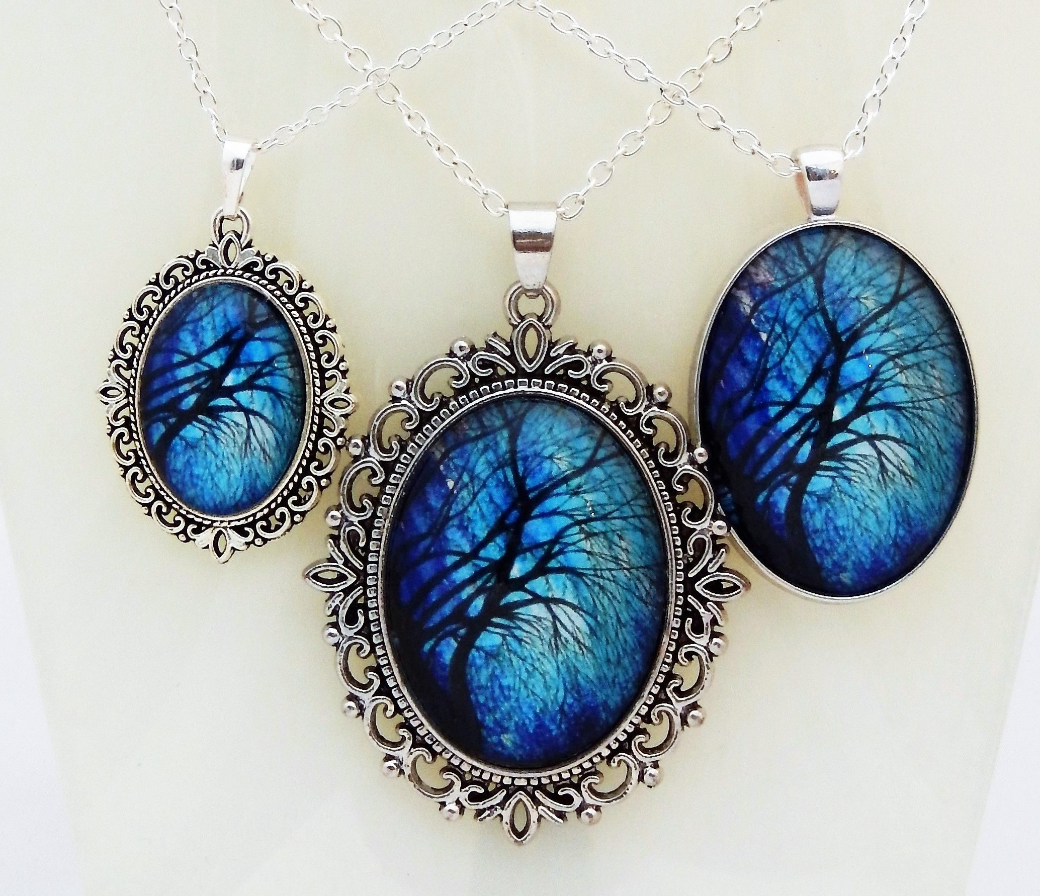 Midnight Willow Pendant Collection