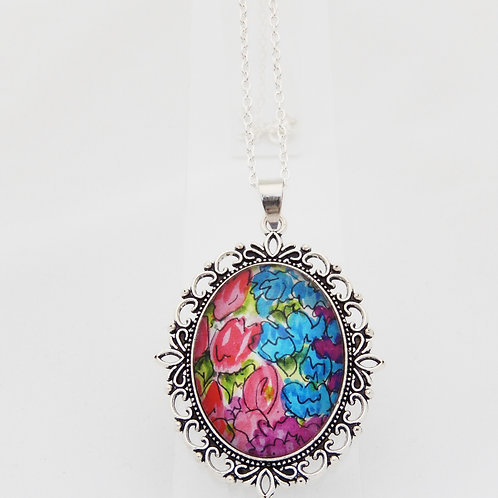 Countryside Florals Ornate Necklace