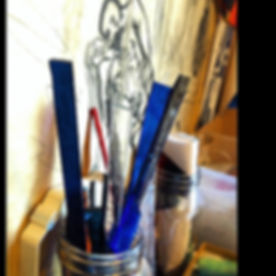 Turning Glowing Glass