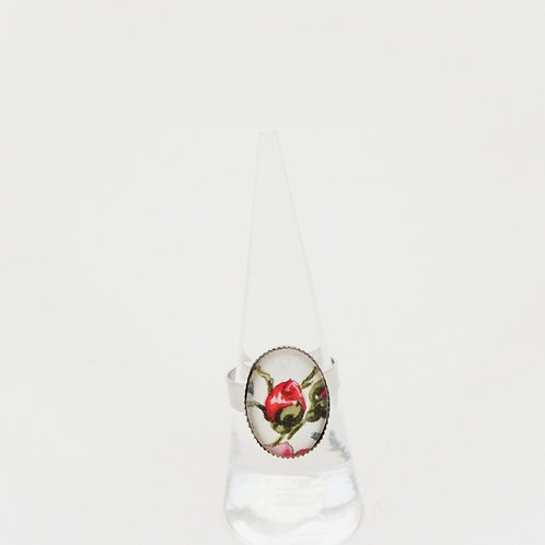 Rosebud Mini Ring