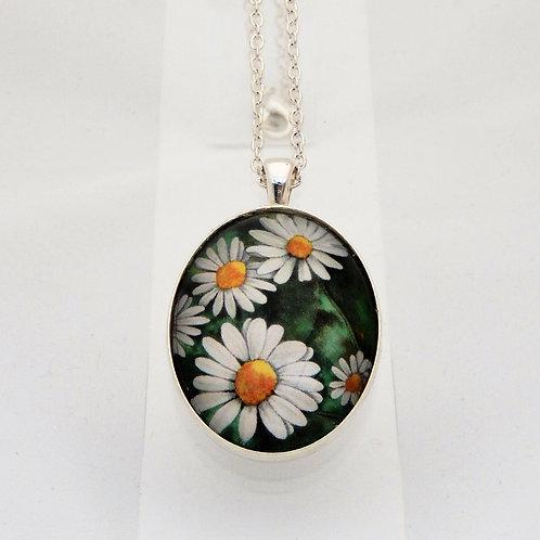 Vintage Daisy Delicate Necklace