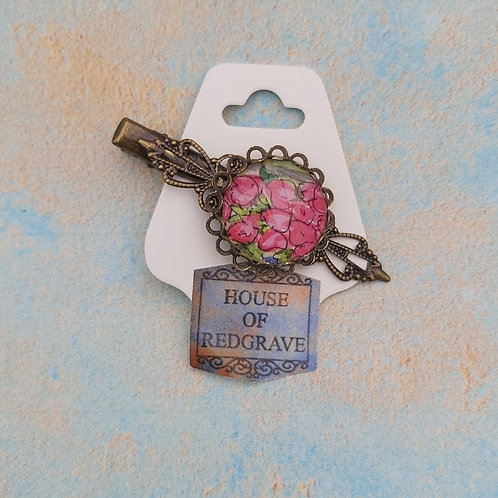 Countryside Florals Pink hair clip