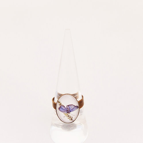 Blue Morpho Mini Ring