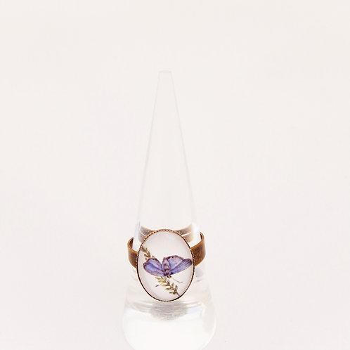 Blue Morpho Mini Ring
