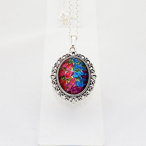 Countryside Florals Mini Ornate Necklace