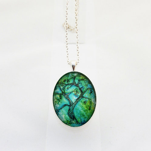 Jade Willow Delicate Necklace