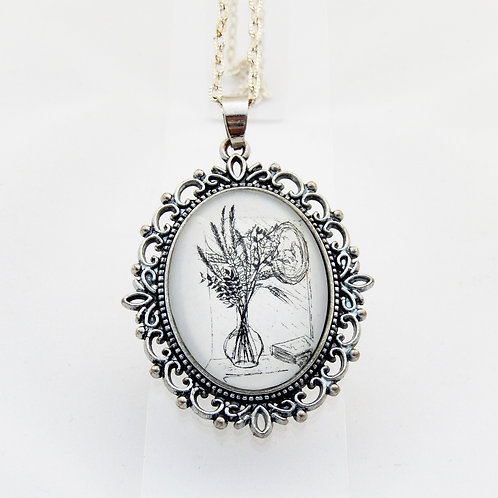 Grasses Ornate Necklace