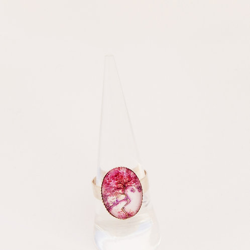 Purple Willow Mini Ring