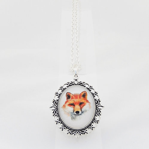 Fox Ornate Necklace