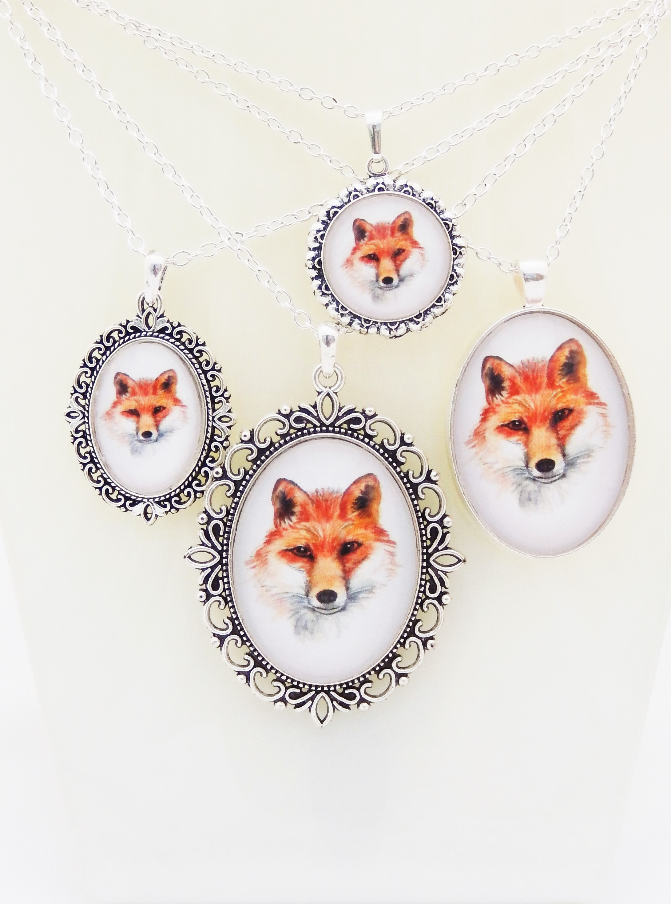 Fox Pendant Collection
