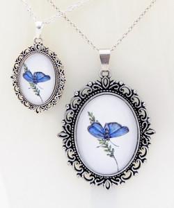 Blue Morpho Pendant Collection