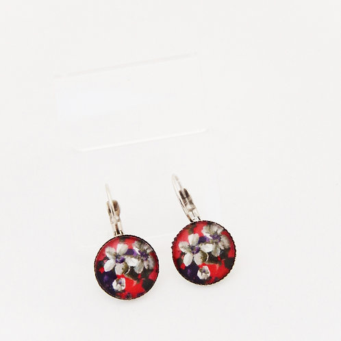 Autumn Florals Drop Earrings