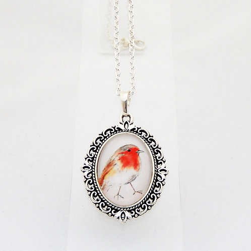Robin Mini Ornate Necklace