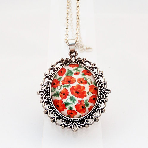 Poppy Ornate Necklace